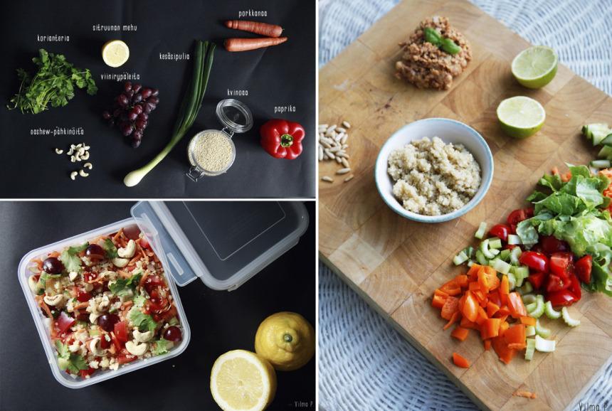 kvinoa salaatit