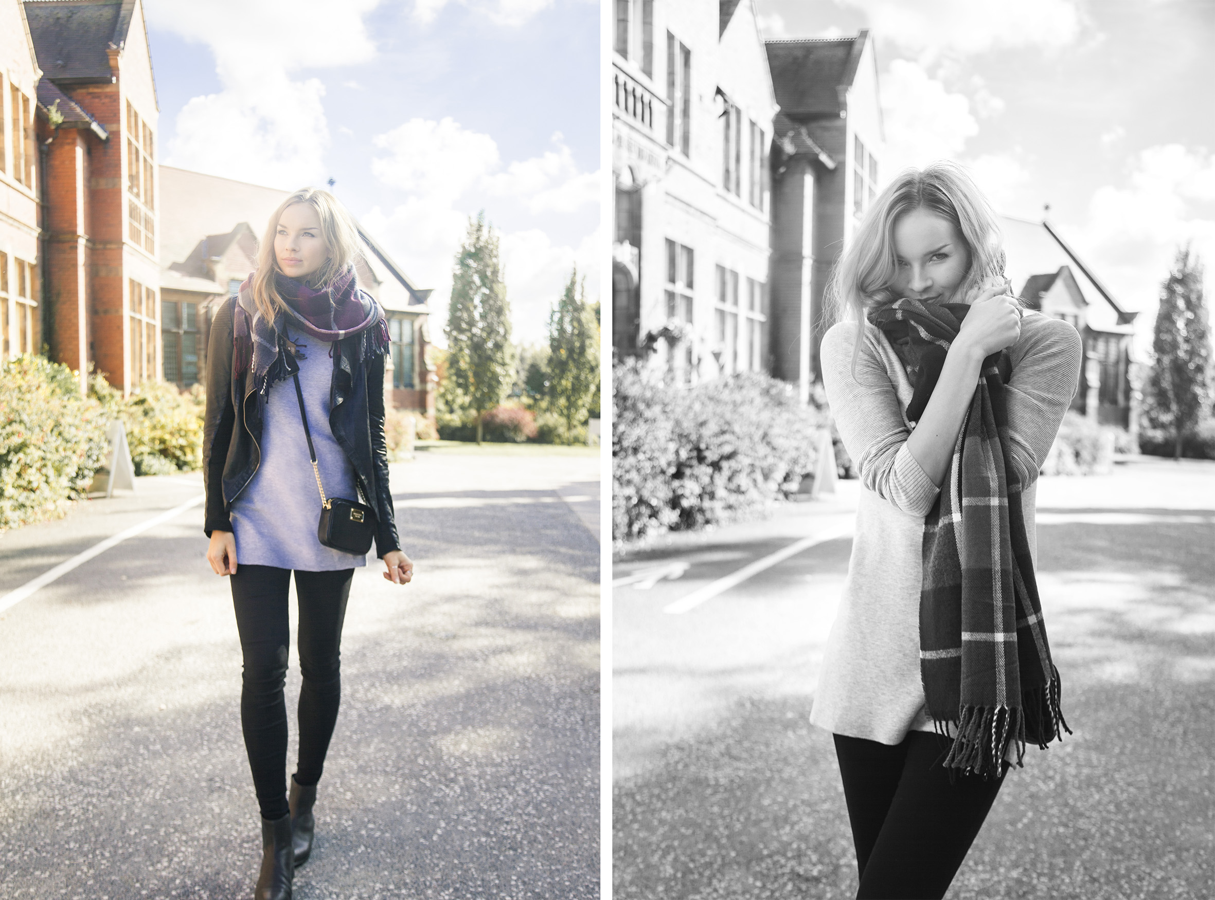 Casual styles in autumn by Vilma P.