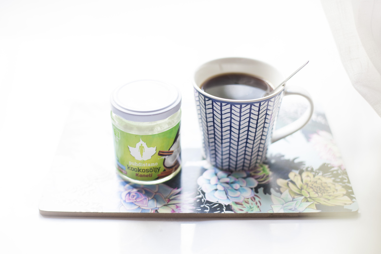 kookosöljy kahvi